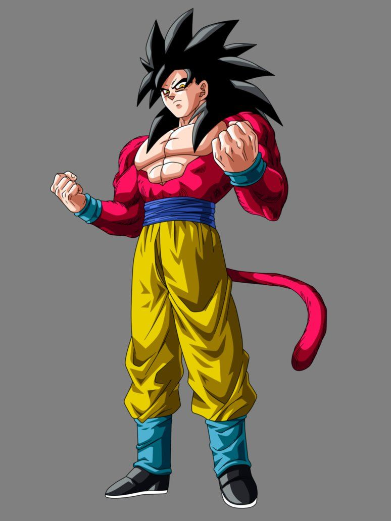 Goku super saiyan 4 dragon ball z pinterest goku - Son gohan super saiyan 4 ...