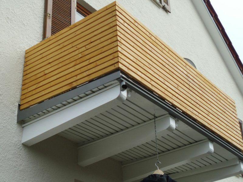 Tolle Ideen und passende Materialien zur Balkonverkleidung #balkonsichtschutz