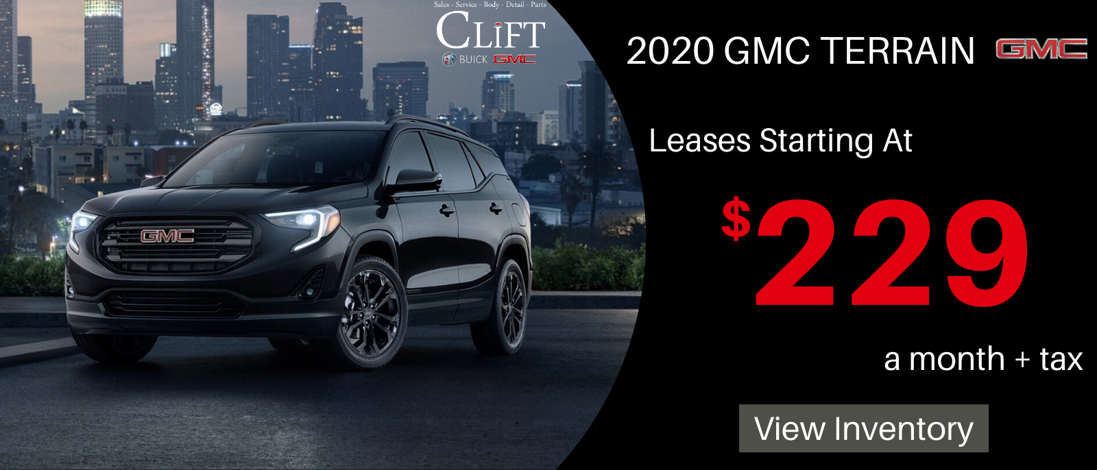 Lease 229 Month Or Save 9 259 Off Msrp In 2020 Gmc Terrain