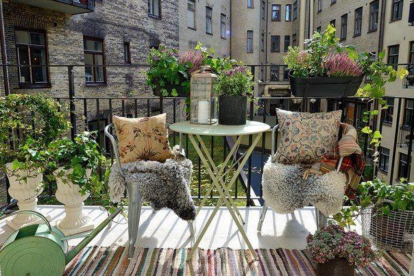 Идеи дизайна и отделки балкона. Лучшие стильные решения ...