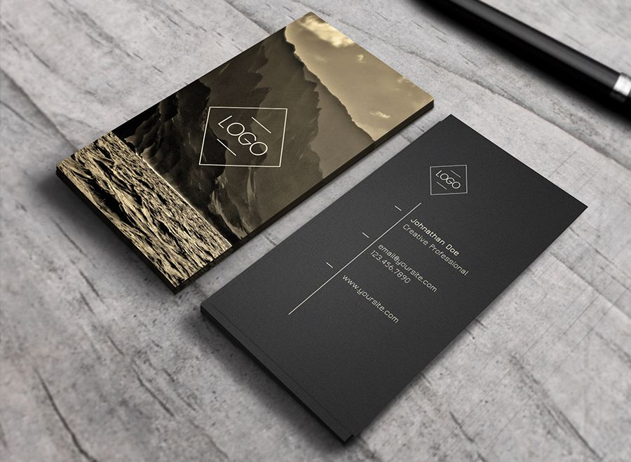 Ember - Business Card by Macrochromatic on Creative Market
