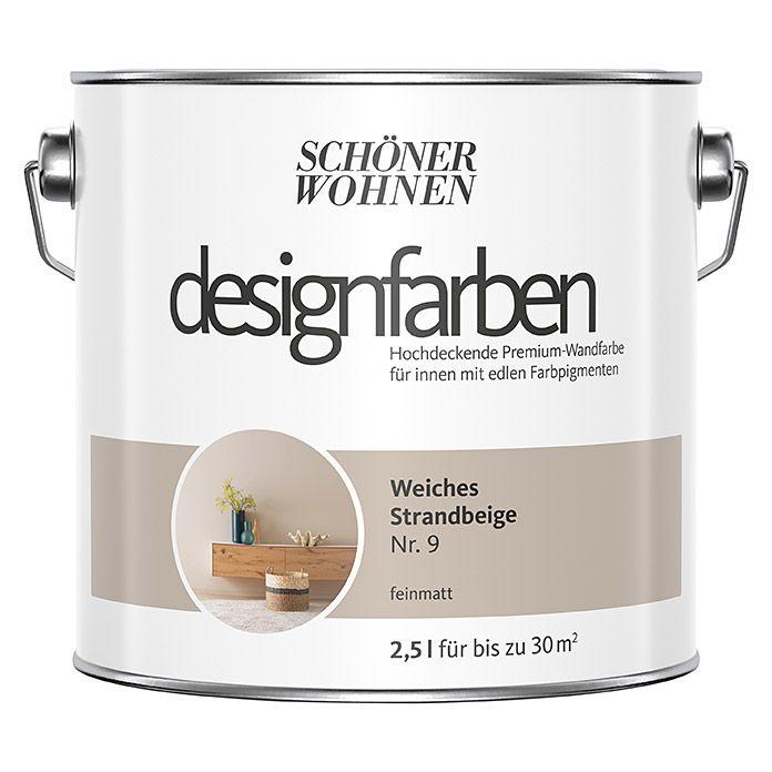 Schoner Wohnen Wandfarbe Designfarbe In 2020 Schoner Wohnen Wandfarbe Wandfarbe Wandfarbe Farbtone