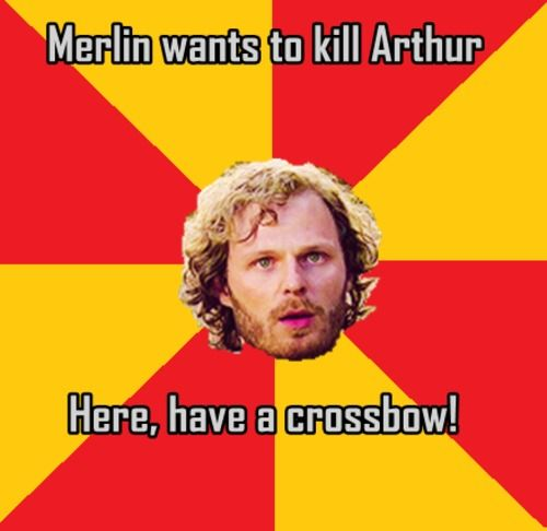 It's cool, Leon. We know you ship Merthur.