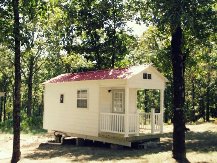 Tiny Towable House Front Porch To Connect With Us And