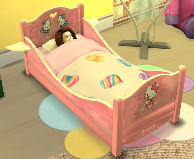 Sims 4 Classic Toddler Bed