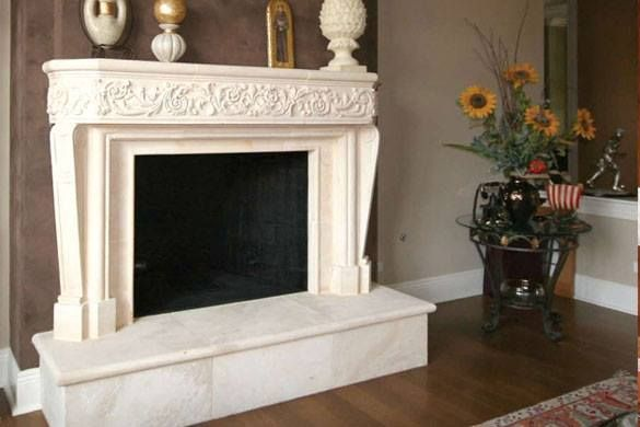 Peachy Pin By Artisanco On Home Decor Custom Fireplace Stone Home Interior And Landscaping Ologienasavecom