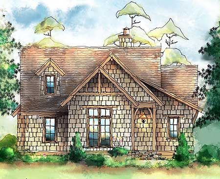 Plan 26689gg Wistful Itty Bitty Cottage Cottages