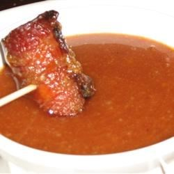 Bacon Wrapped Brown Sugar Smokies Dipping Sauce