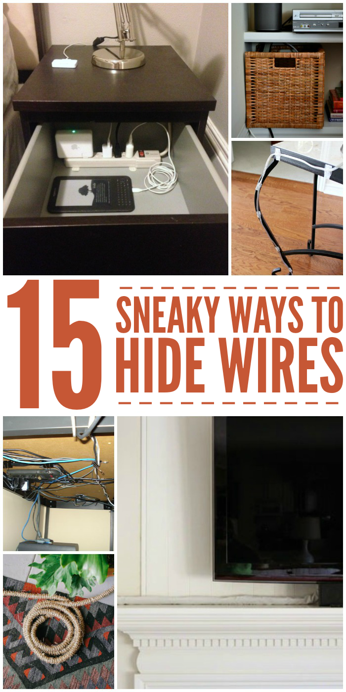 Cable Management 15 Ways To Hide Ugly Wires Fun Ideas