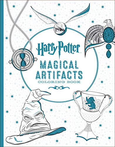 Harry Potter Magical Artifacts Coloring Book By Scholastic Scholastic 1338030027 9781338030020 Harry Potter Coloring Book Coloring Books Harry Potter Colors