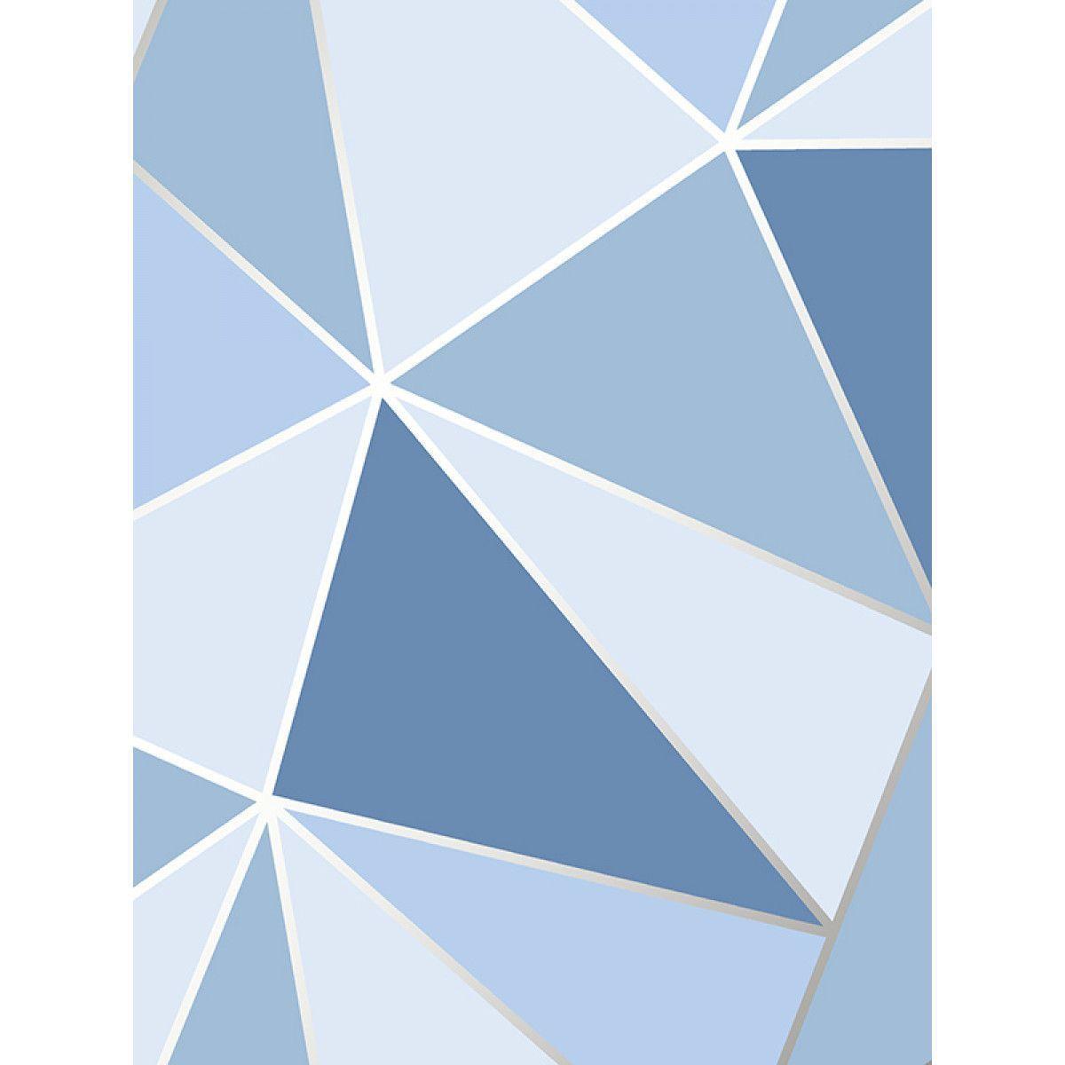 Papier Peint Geometrique Apex Bleu Fine Decor Fd41992 Petit Hotel R Fond Ecran Bleu En 2020 Fond Ecran Bleu Papier Peint Geometrique Ecran Bleu