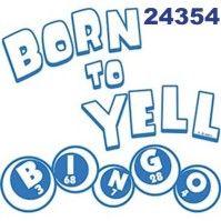 Click To Order Printed T Shirt 24354 Born To Yell Bingo