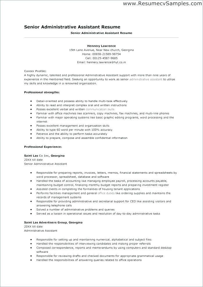 Professional Resume Samples Free Professional Business Resume