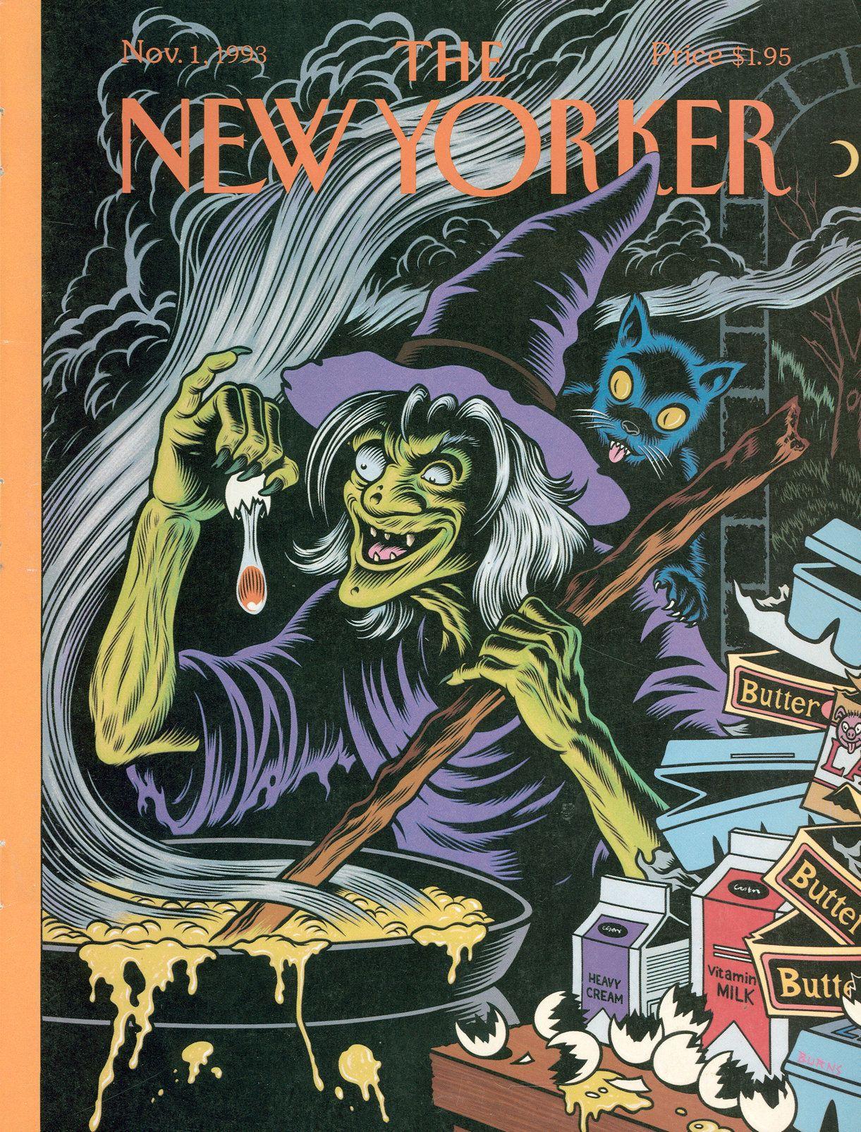 Halloween 1 November.The New Yorker Monday November 1 1993 Issue 3583