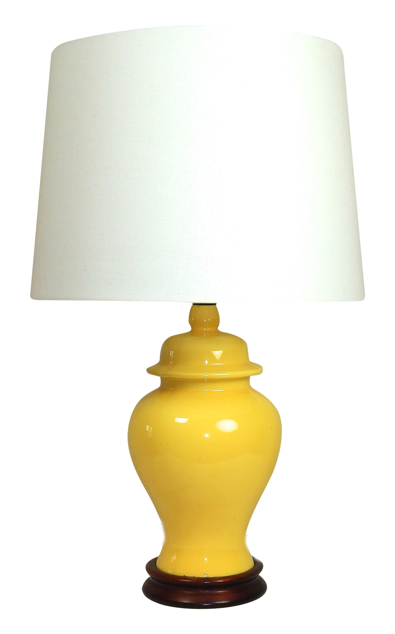 Yellow ginger jar table lamp geotapseo Gallery