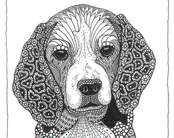 Coloring Books Small Breed Dog