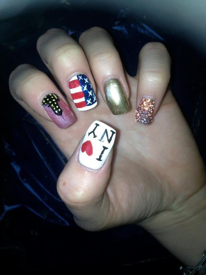 my NYC nails