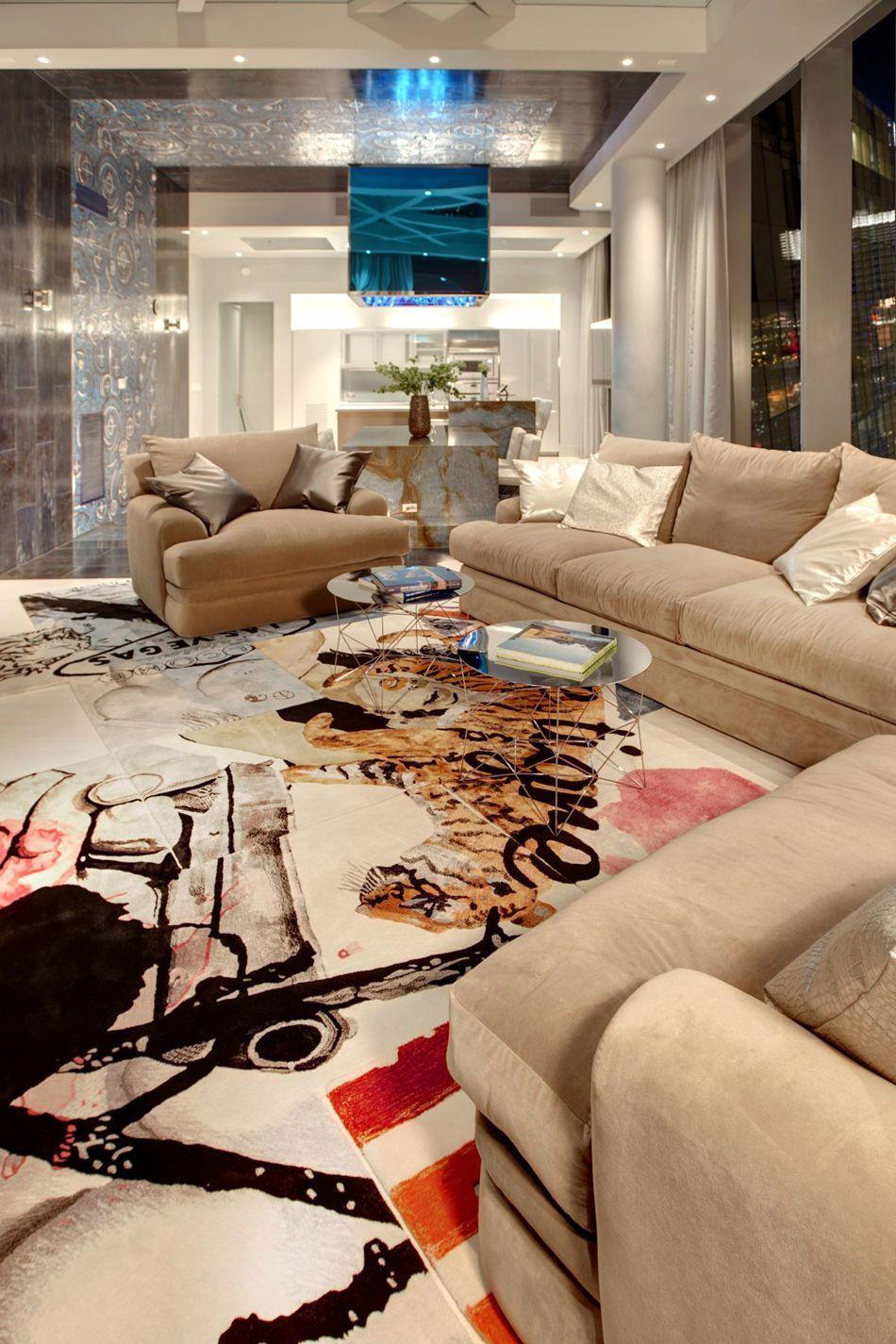 Las Vegas Penthouses for Sale Modern apartment decor