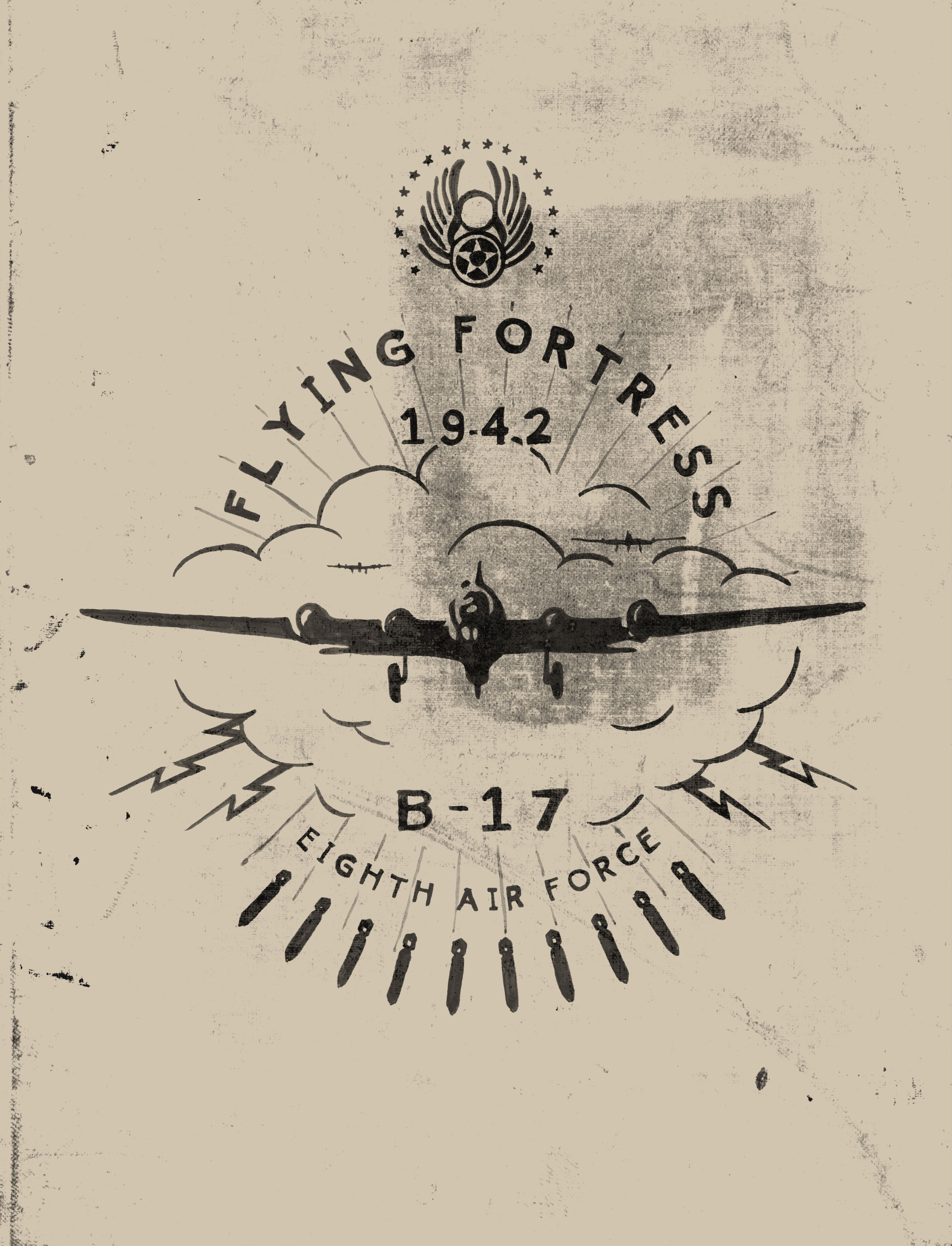ff3061bd WWII, Vintage Style B17 Bomber t-shirt in 2019 | Rugged, Military ...