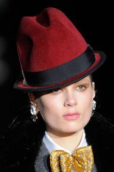 hats.quenalbertini: Burgundy Felt Hat - Google search