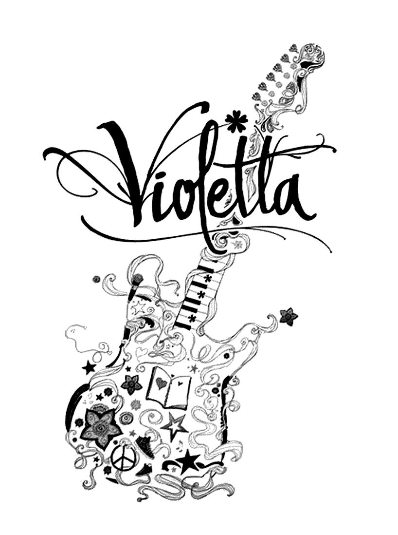Printable coloring pages violetta - 25 Best Ideas About Coloriage Violetta On Pinterest Martina Stoessel Violetta And Foto Violetta