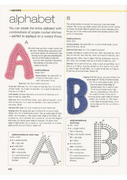 motiv 392 | Crochet - motifs | Pinterest | Apliques