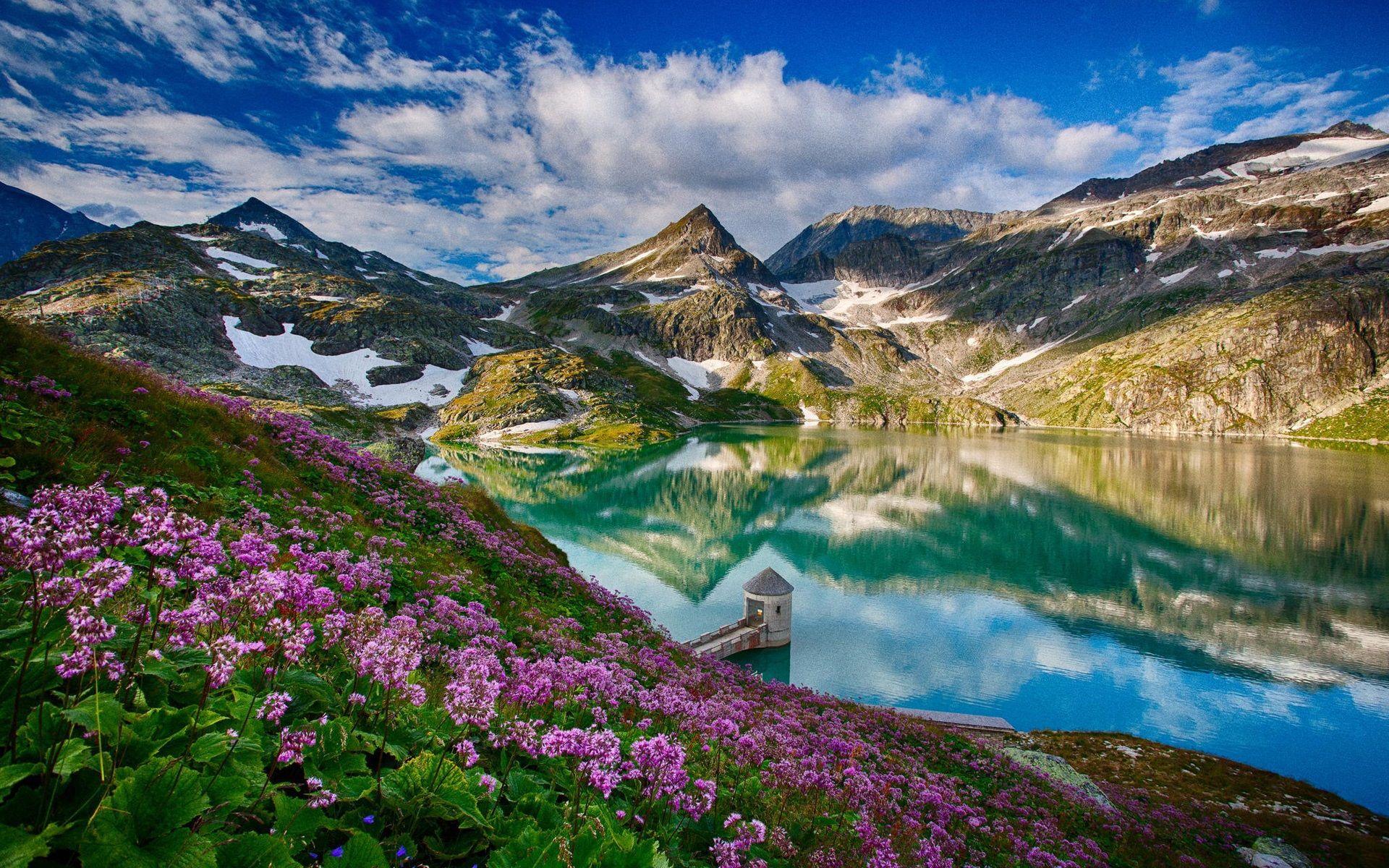 Spring Landscape Wallpaper Desktop For Desktop 1920x1200 Px 1 08 Mb Landscape Wallpaper Spring Landscape Beautiful Nature