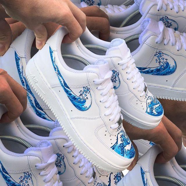 Custom Sneaker By greazytakesall | Nike air shoes, Nike