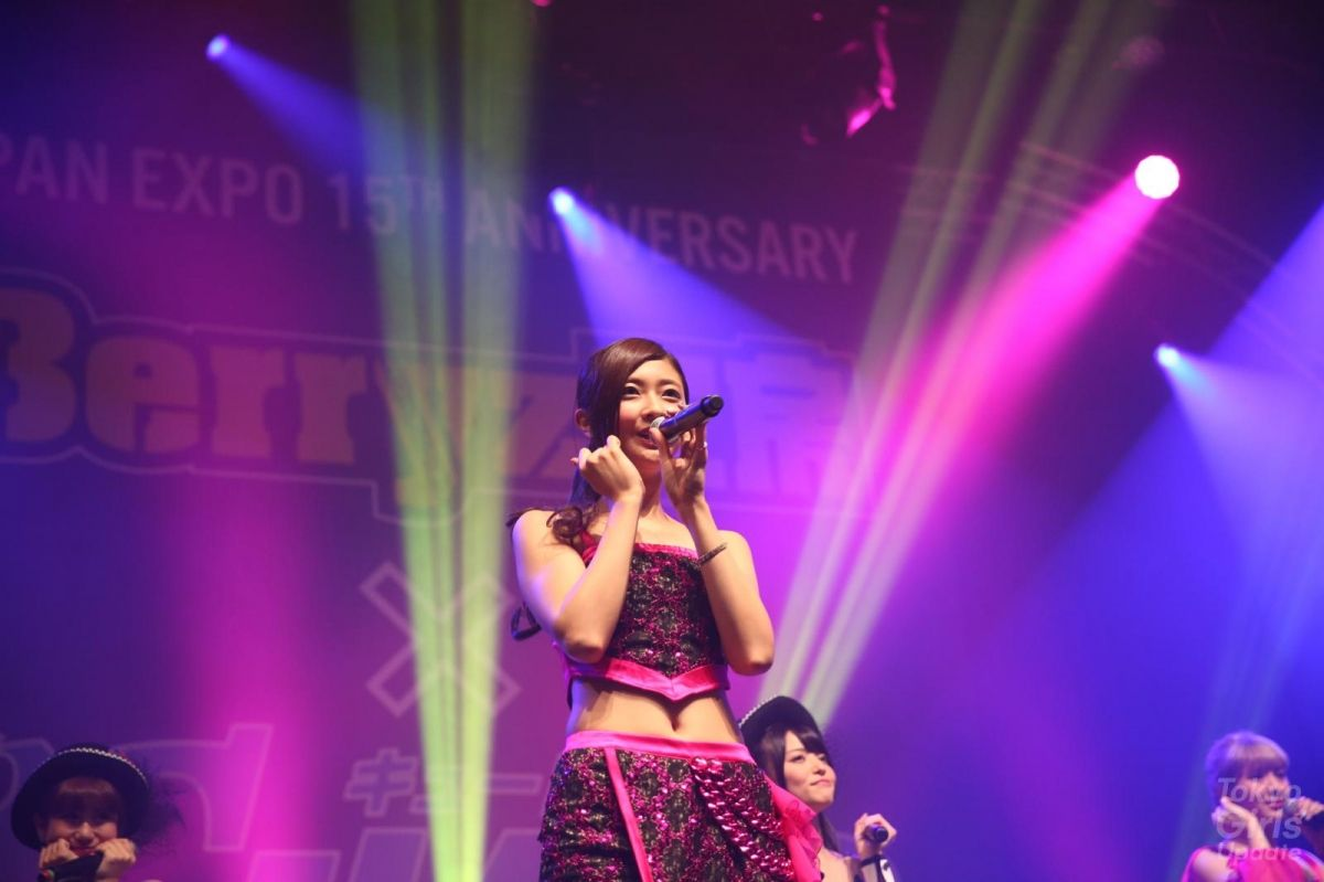 Japan Expo 15th Anniversary:Berryz Kobo x °C-ute in Hello! Project Festival ! / Berryz工房 - 岡井ちゃん、熊井友理奈 Yurina Kumai、舞美、ちゃんりー