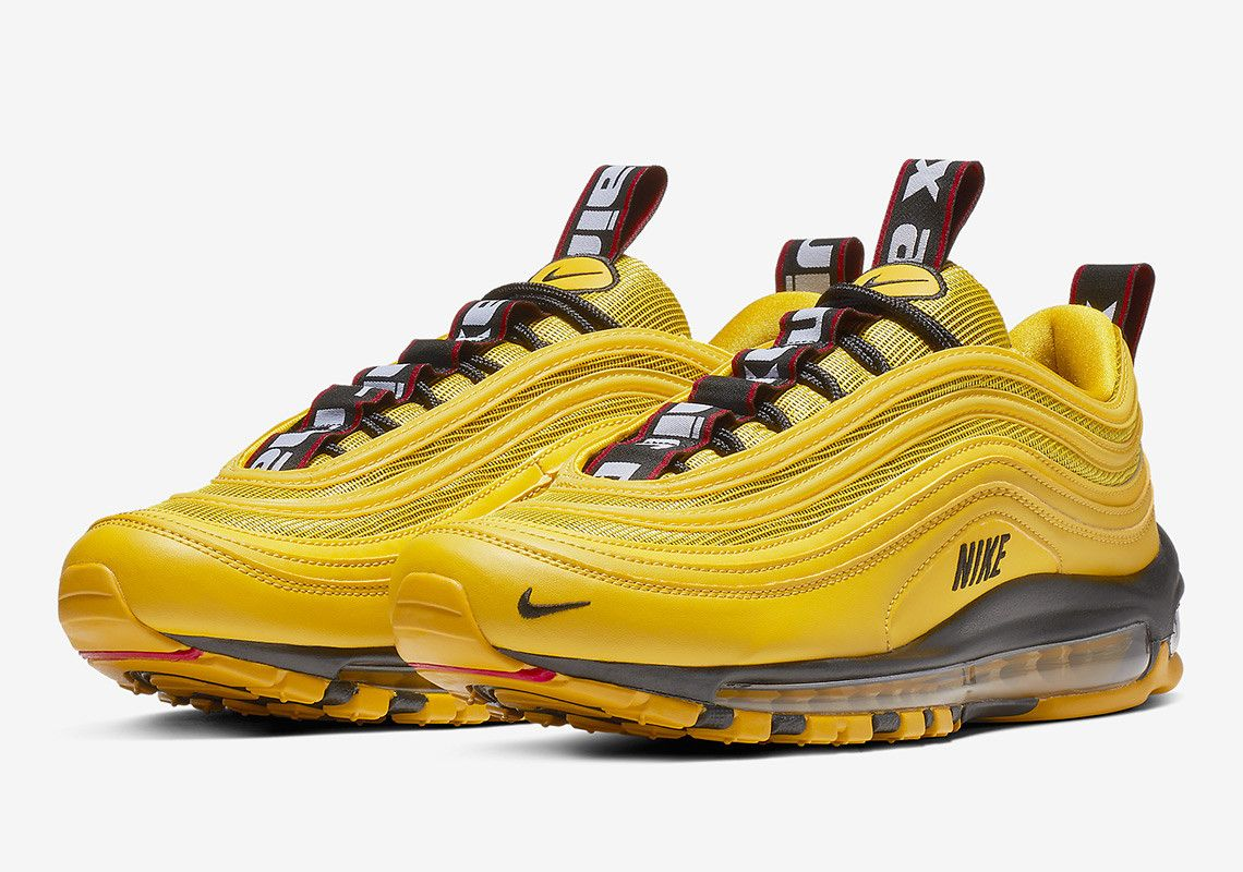 47a3f5edaa The Overbranded Nike Air Max 97 Arrives In A Taxi Yellow | Dope ...