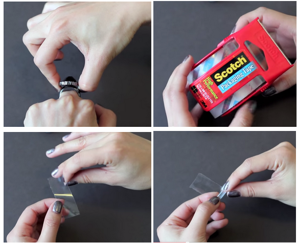 How To Resize Your Ring To Make It Smaller At Home Small How To Make Life Hacks