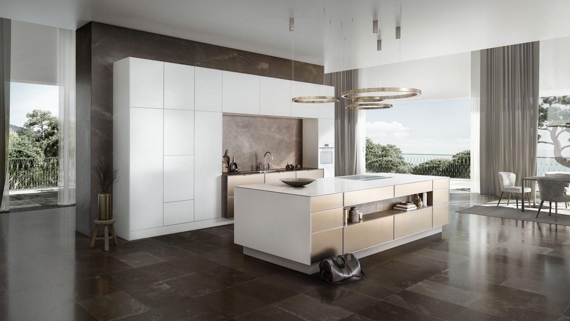 Siematic Minimalist Kitchens In Palma De Mallorca Espaciohdg Disenos De Cocinas Pequenas