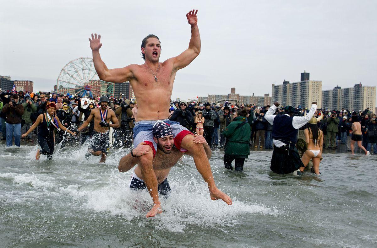new york new year swim