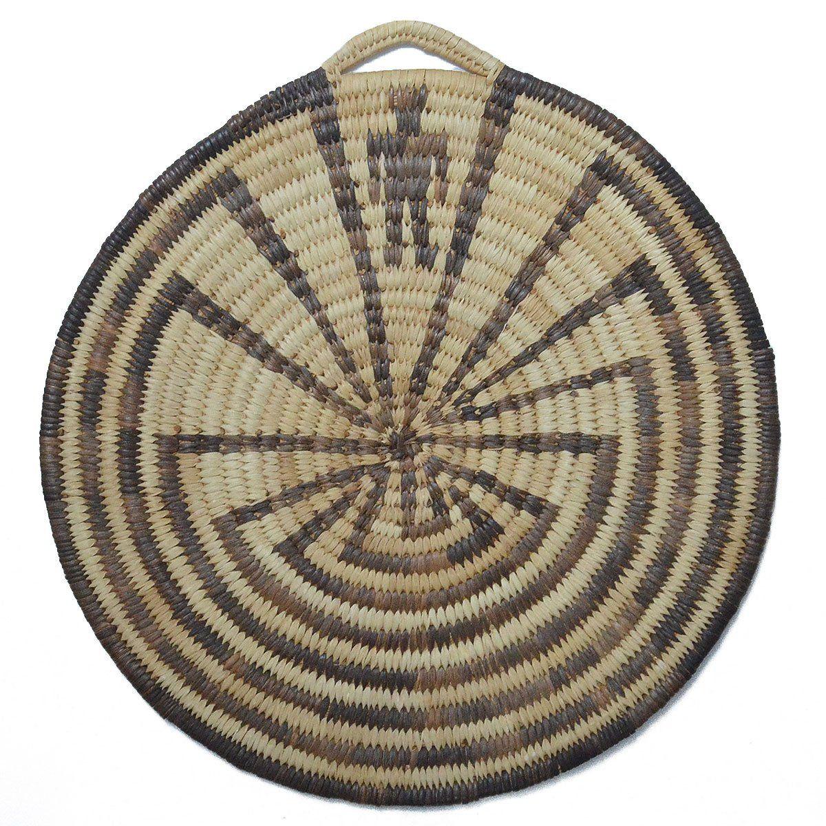 Santa Fe Show Basketry Vintage Tohono Oodham Man In Maze Ca 1940
