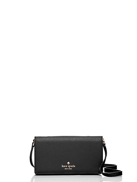 new concept 03a1d 21be0 Kate Spade Iphone 6/7 Crossbody, Black   Products   Kate spade ...