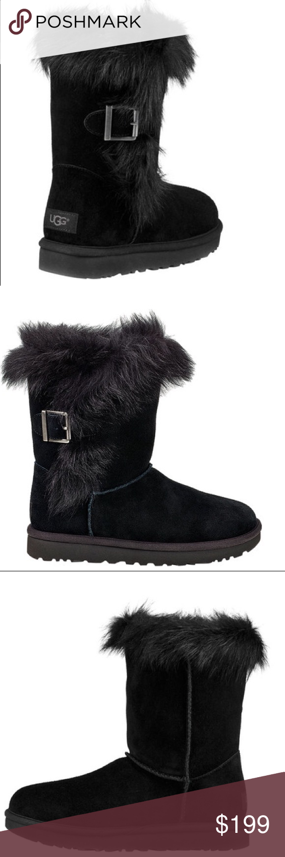 600248c972e 🆕Ugg Australia classic W Deena black mid boot Upgrade your look ...