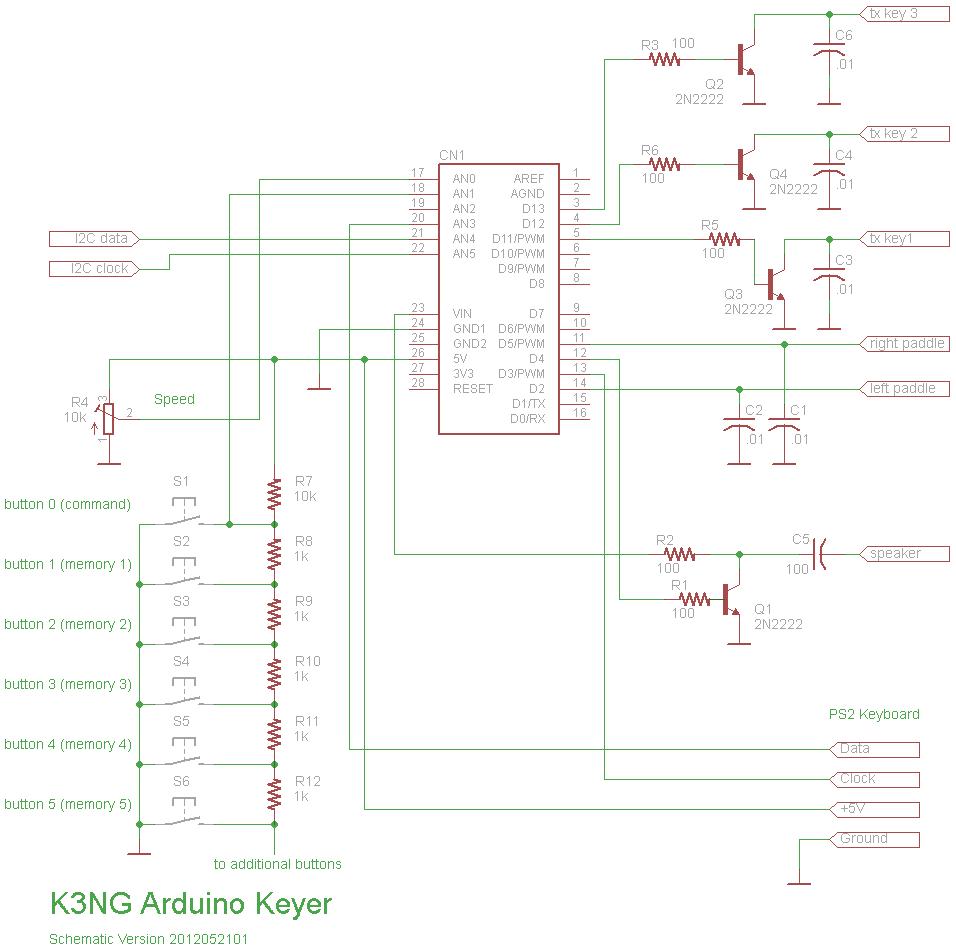 Arduino Cw Keyer K3ng Amateur Radio Pinterest Morse Smart Car Fuse Box Location As Well Microsquirt Wiring Diagram