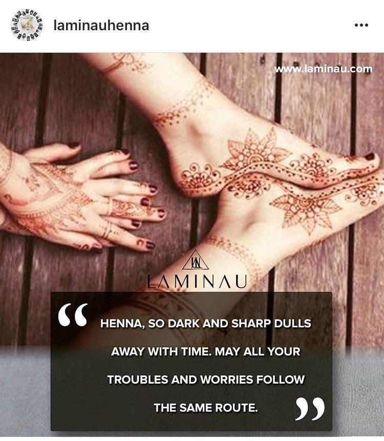Instagram Mehndi Quotes In English