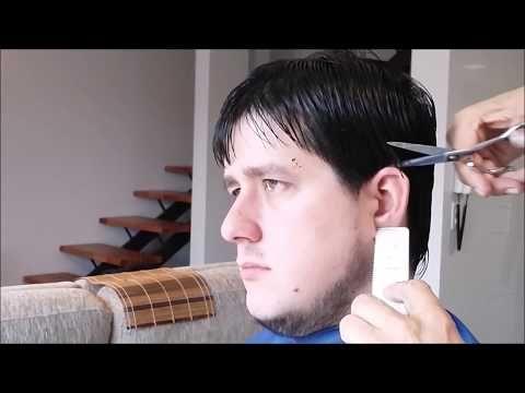 Tecnicas de tijera Cmo cortar un cabello con remolinos YouTube