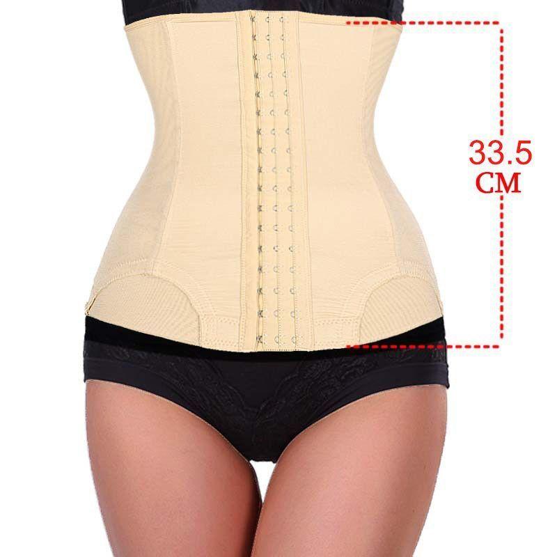 7c6fe44d92 7 Steel Bone waist trainer Women Slimming Waist training corsets Underbust  cincher body shaper corset slimming