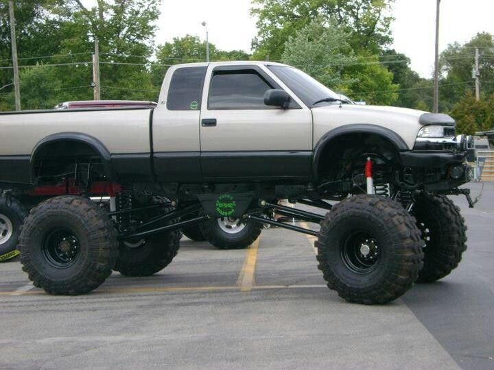 Lifted Chevy S10 Chevy
