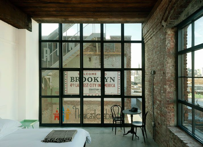 Wythe Hotel in Williamsburg, Brooklyn, NY