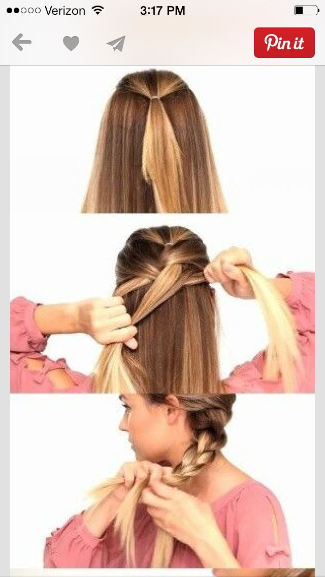 I Want To Try This Perfect Hair Braiding Your Own Hair Hair Makeup