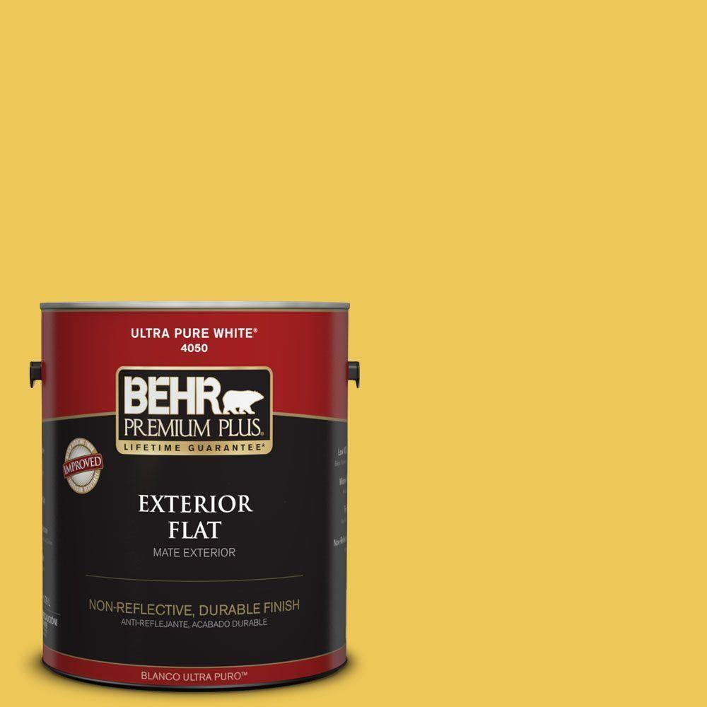 BEHR Premium Plus 1-gal. #390B-6 Citrus Zest