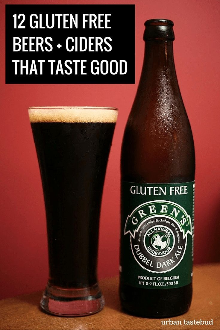 Gluten Free Beers And Ciders That Taste Good Gluten Free Beer Gluten Free Alcoholic Drinks Gluten Free Alcohol