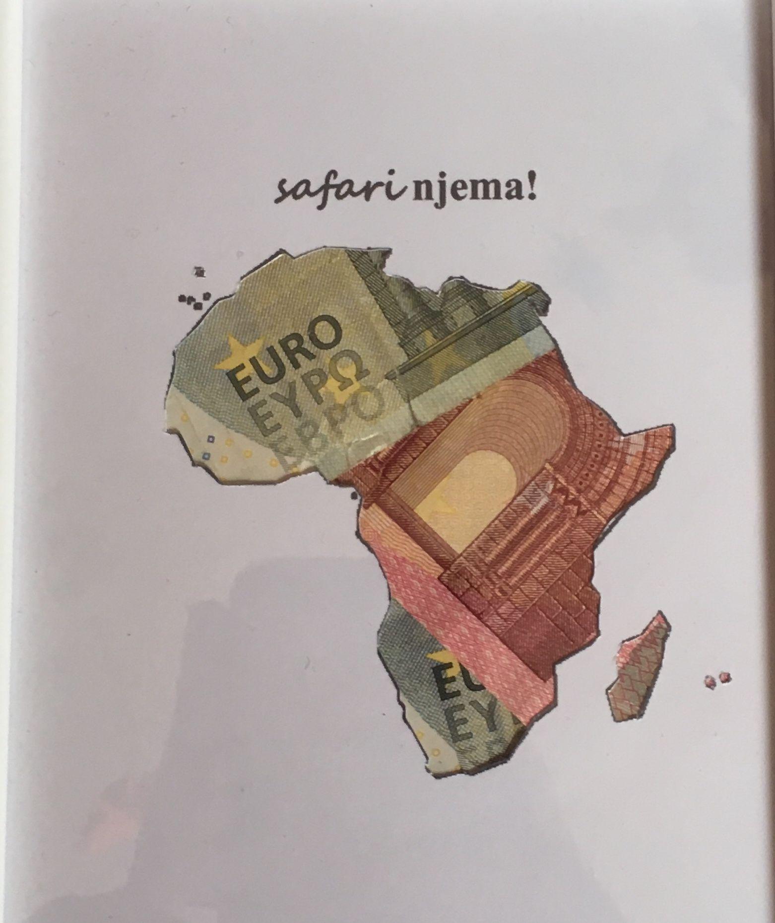 Geldgeschenk Auslandsjahr Afrika Einfache Geschenke Creative