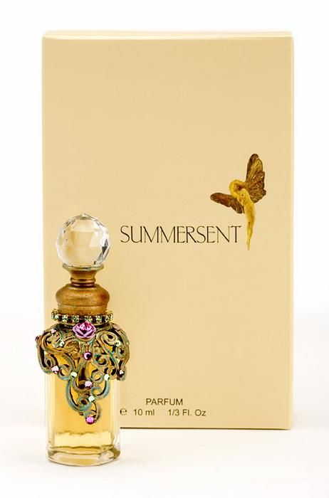The inspiration for Summersent is a rare, guarded flower