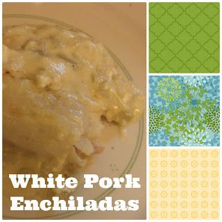 Love, JulieBug: White Pork Enchiladas