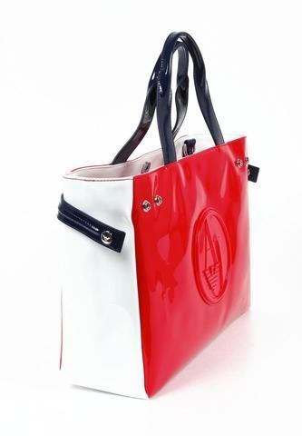 Armani Jeans Ladies Handbag - Beige 56e92e0803d35