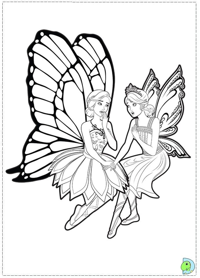 Barbie Mariposa Coloring Pages Google Sogning Coloring